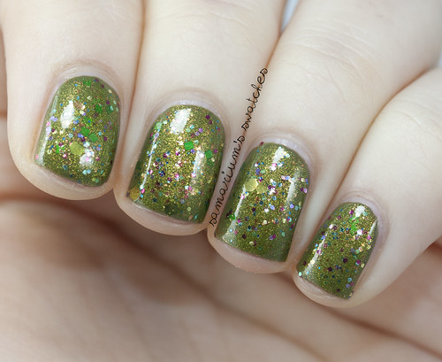 Fanchromatic Nails Pack of Freaks over Zoya Dree