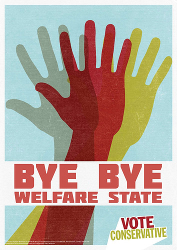 Bye, bye Welfare State. UK government passes Welfare bill. by Teacher Dude's BBQ
