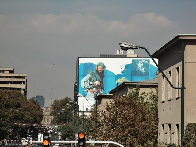 Mural on the street_Tehran
