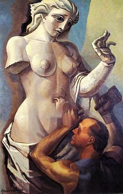 Spilimbergo, Lino Enea (1896-1964) - 1936 The Sculptor