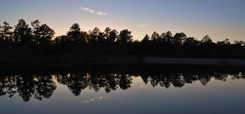 sunset usa lake water nikon wasser unitedstates florida hike trail airforce usaf duckpond floridatrail eglin eglinafb okaloosacounty d5000 floridanationalscenictrail fisherbray eglinrangecomplex