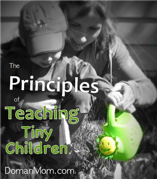 Principles of Teaching Tiny Children