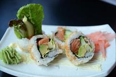 Spicy Salmon Roll AUD6.80 - Meshiya QV