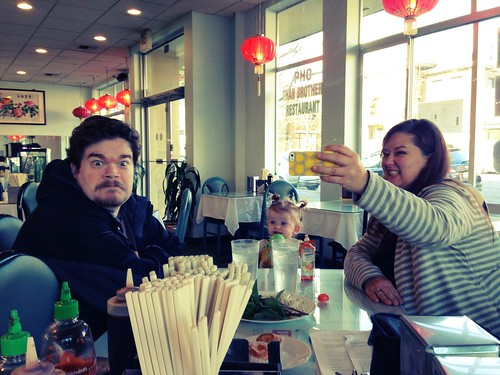 Family Pho (crazy looking Mom included!)