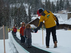 ski equipment(0.0), snowboarding(0.0), winter sport(0.0), ski cross(0.0), ski(0.0), skiing(0.0), sports(0.0), snowboard(0.0), sports equipment(0.0), ice rink(0.0), cross-country skiing(0.0), nordic skiing(0.0), snowshoe(1.0), footwear(1.0), winter(1.0), snow(1.0),