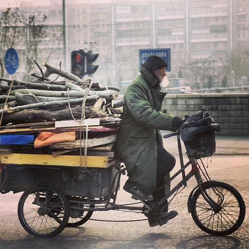Keeping warm in Beijing