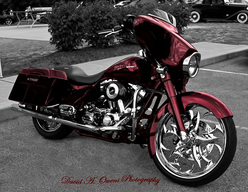 Black Cherry Harley