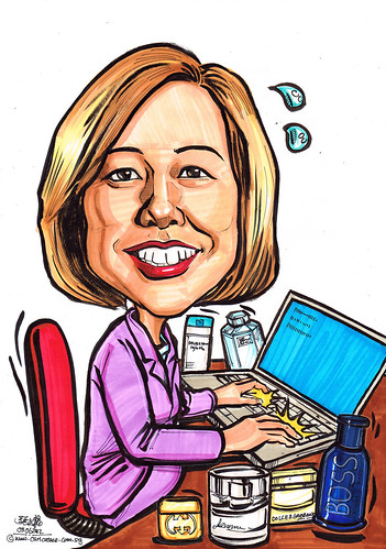 caricature for P&G 03062012