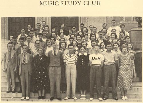 Music Study Club 1937