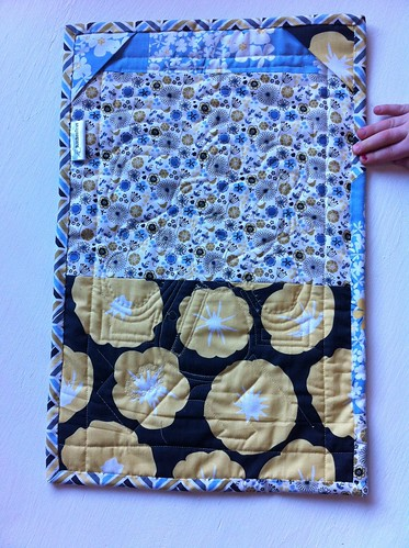 Madrone road challenge quilt back