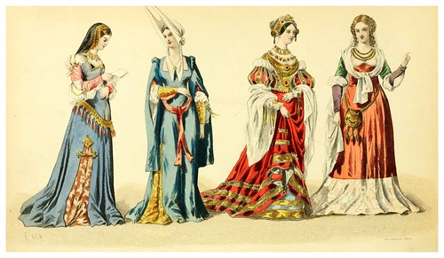 003- The history of fashion in France…1882-Augustin Challamel