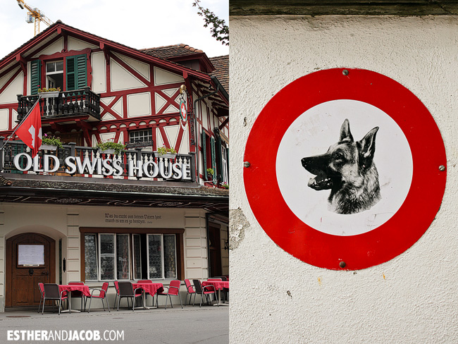 Old Swiss House in Lucerne / Luzern Switzerland | Travel Photography