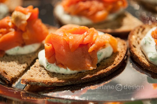 The Salmon Shop appetizers at Plated and Paired