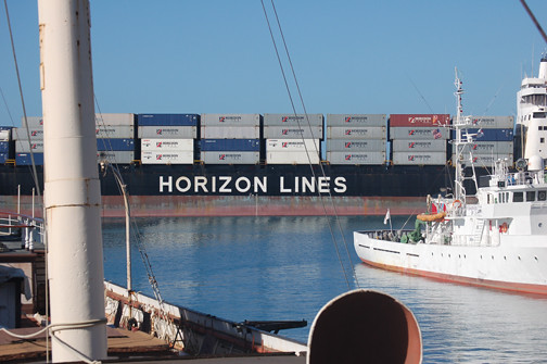 Horizon Pacific passing by