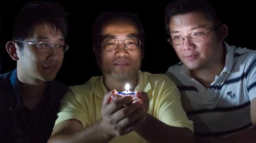 В США создан светодиод, который излучает теплый белый свет от одного люминофора