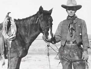 Aldo Leopold's Forest Service career began in 1909, as a ranger on the Apache National Forest in the Arizona Territory. (Photo courtesy Aldo Leopold Foundation)
