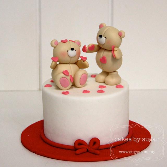 Valentines Cake Topper Printour