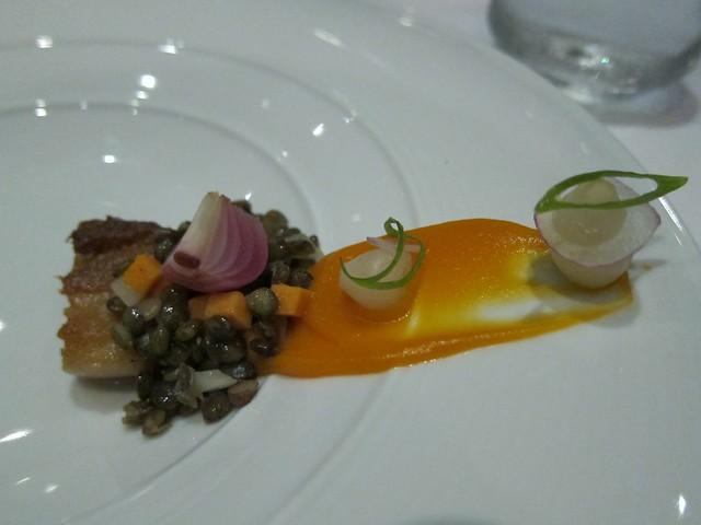 Lentil - onion, pig, yam
