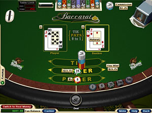 Baccarat Real Money