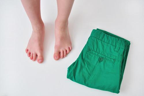 voet + broek