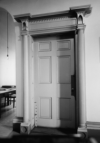 Detail, Doorway from Hallway, First Floor, Marine Hospital, Third & Kilgour Streets, Cincinnati, Hamilton County, OH