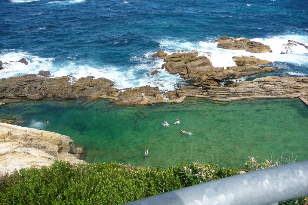 Blue Pool in Bermagui