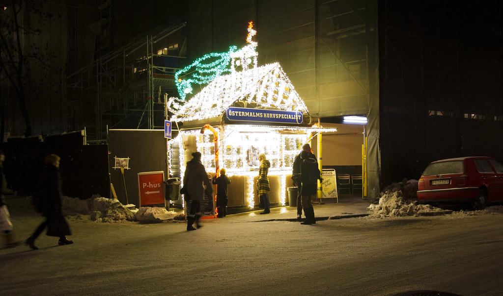 Installationen på Nybrogatan i Stockholm.