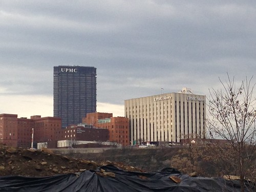 Three UPMC Buildings from the Southside