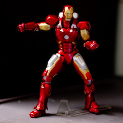 iron man, red, fictional character, figurine, action figure, toy,