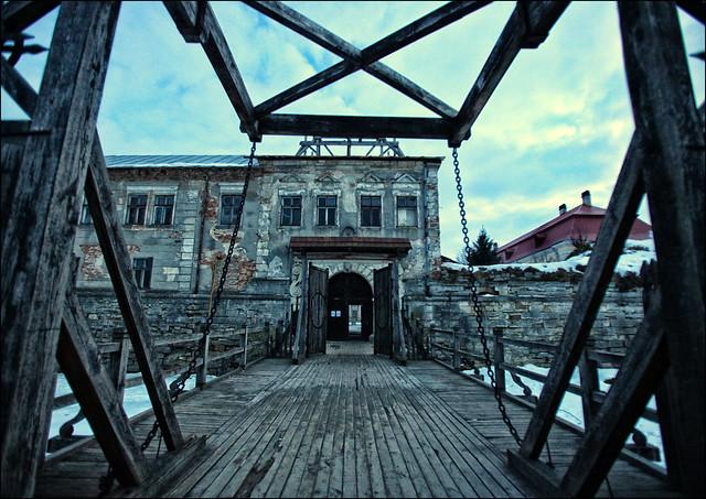 Zolochiv Castle's Gate