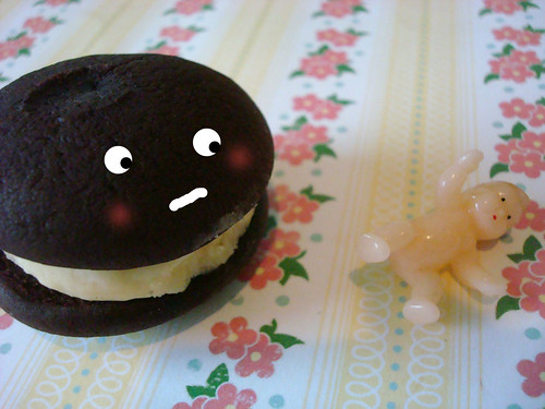 Whoopie pie and baby