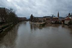 La Moselle - Vue depuis le Pont Saint Georges