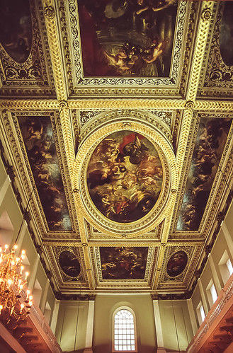 Banqueting House Ceiling.  Some rights reserved by jacqueline.poggi on Flickr.  Used through Creative Commons.
