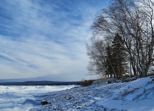 Little Girl's Point In January (2)