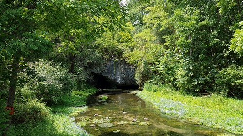 Arch Spring, PA's only natural bridge