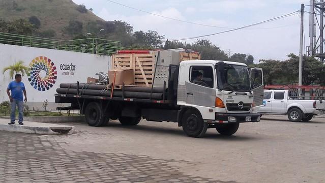 Estación de bombeo Amazonas recibe limpieza