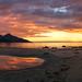 sunset glow pano by John A.Hemmingsen