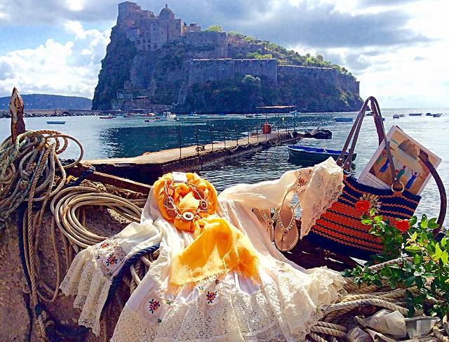 Angolo della Corteglia  #Ischia #IschiaPonte #castelloaragonese #travelgram #travel #landscape #view #trip #myphoto #photo #italy #naples