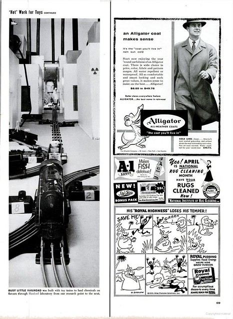 "Life March 28 1955 Hanford article, page 2, ""Hot Work for Toys"""