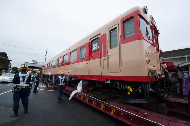 いすみ鉄道 キハ28 2346 陸送・搬入
