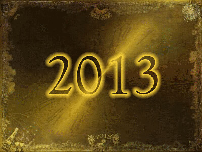 Happy New Year 2013 - (Free Animated gif-Download the Original size of this photo)