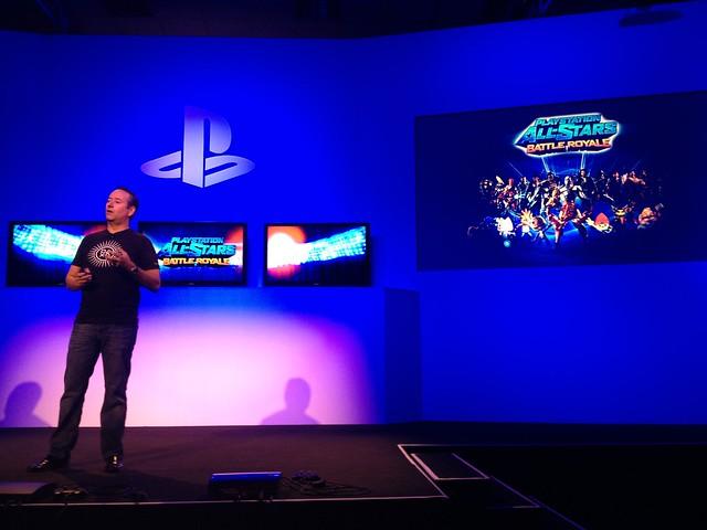 Coletiva de PlayStation na Brasil Game Show 2012