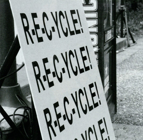 Recycle Sign - Houstonian 2010