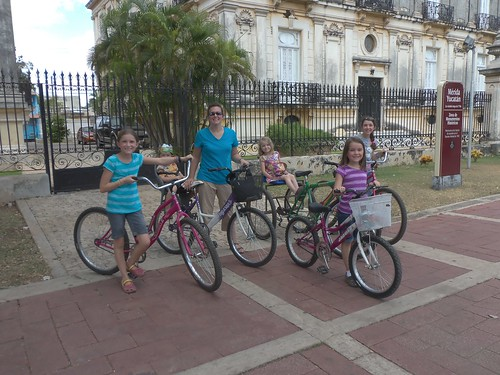 Merida, Mexico bike ride