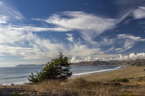 seascape beach day cloudy morrobay cayucos cloudsstormssunsetssunrises