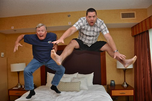 Bed Jumping in Room 614