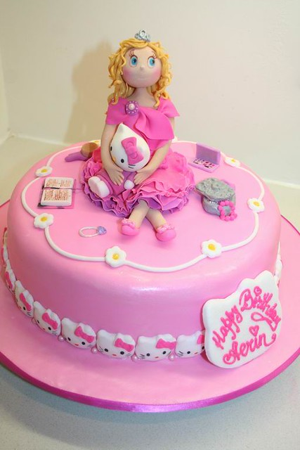 Hello Kitty Princess cake | Hello Kitty and Little ...