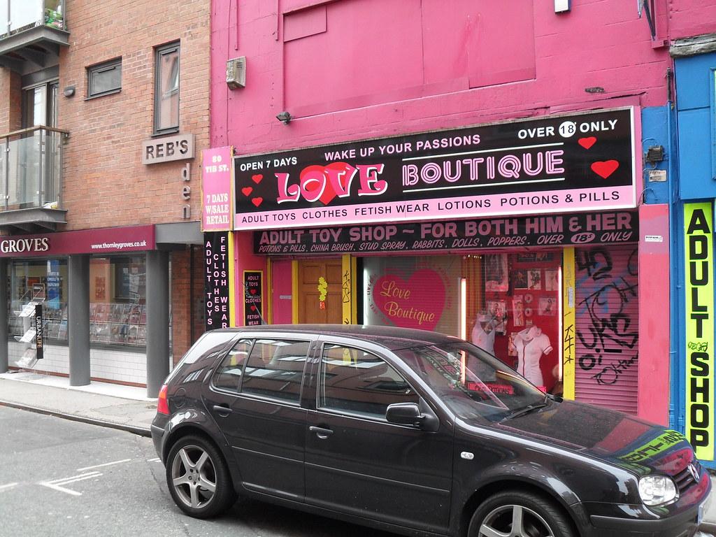 Manchester sex store