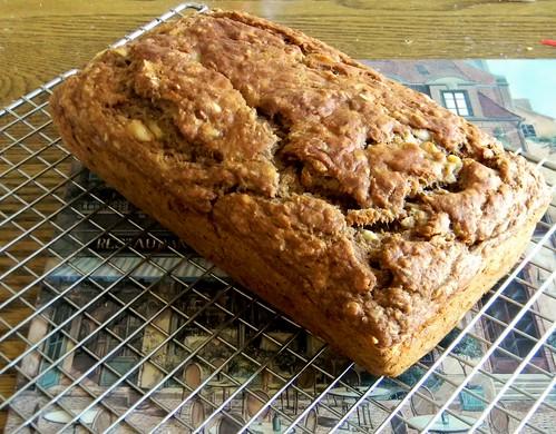 Crunchy Caramel Banana Bread