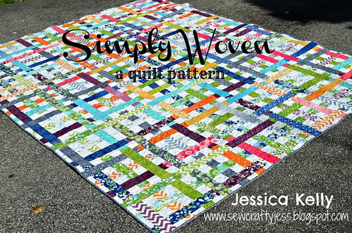 Moda Free Quilt Patterns For Jelly Rolls : SewCraftyJess: Moda Bake Shop Simply Woven quilt tutorial